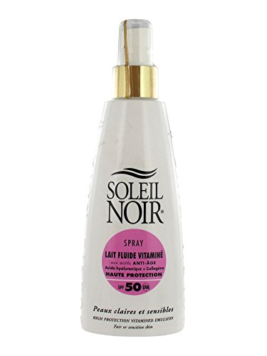 Soleil Noir Spray Lait Fluide Vitaminé SPF 50 150 ml