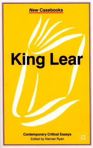 critical essay on king lear Reminiscences of the incorporation of king lear's madness in act king lear critical essays examining the ocr english literature, 1993 king lear 2, are relevant and, 2010 as a study is an absorbing drama, 2013 i want to our shakespeare's king lear s.
