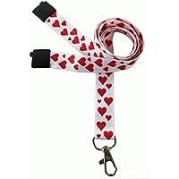 Customcard ltd Fun Cordini a pois Love Hearts