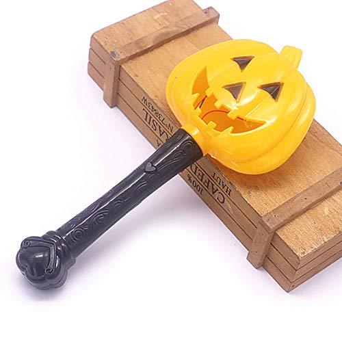 hou zhi liang Halloween Glow Stick Zauberstab Glow in The Dark Light Up Stick Stick Stick für Kostüm-Partys Scharfe Augen Kürbis