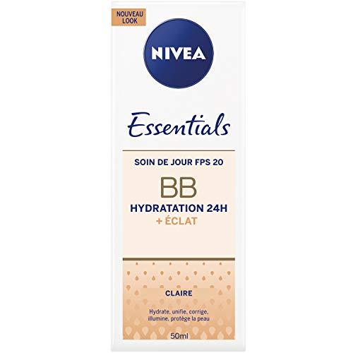 Nivea BB Cream Crème de teint 6en1 Clair 50 ml - Lot de 2