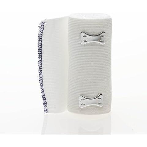 Medline Non-Sterile Sure-Wrap Elastic Bandages White 4X5Yd 1 EA by Medline