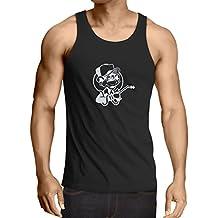 N4055V Camiseta sin mangas Funny Gas monkey