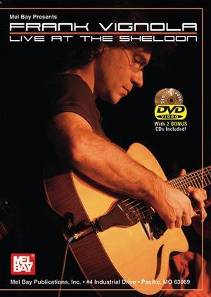 Mel  Bay Frank Vignola DVD/CD Set Live at The Sheldon