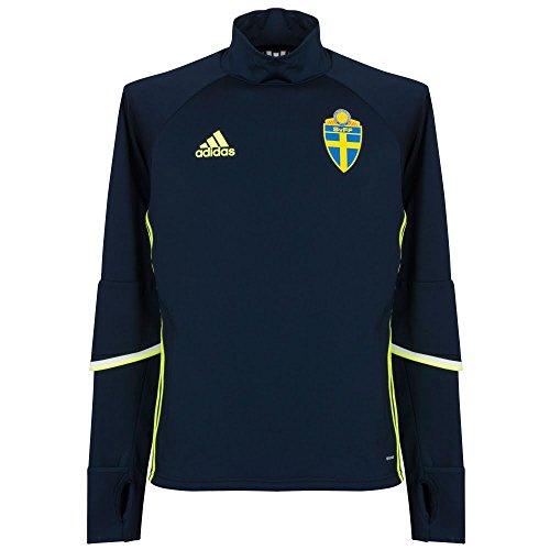 adidas Herren Trikot Schweden Trainingsoberteil, Conavy/Syello, XL, AC3909