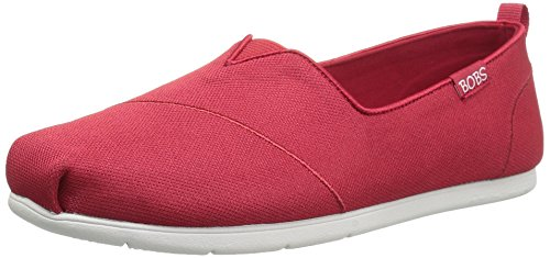 SkechersPlush Lite Custom Built - Sandali con Zeppa donna Red Chic