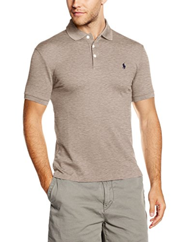 Polo Ralph Lauren Herren Poloshirt Grau (GRANITE HEATHER A0GR0)