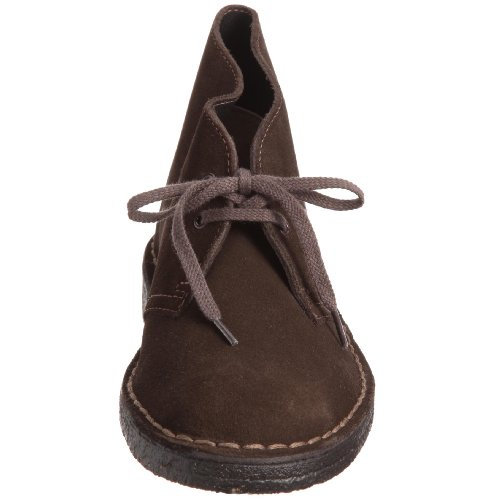 Clarks Originals Desert Boot, A bout rond femme Marron (Brown Sde)