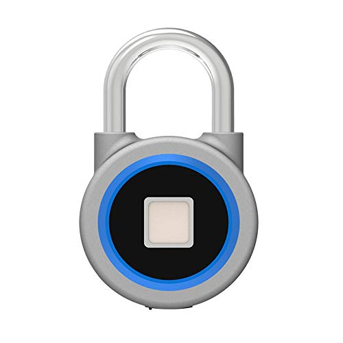 Asg Candado Inteligente con Huella Digital Bluetooth, candado con Cerr