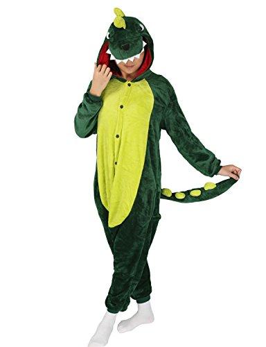 nisex Erwachsene Pyjama Tier Anime Cosplay Kostüm Mailanda Onesie Kigurumi Schlafanzug Nachtwäsche Overall Jumpsuit Hoodie Pyjamas mit mit Kapuze Plüschtier Kapuzenkostüm (Totoro Kinder Kostüm)