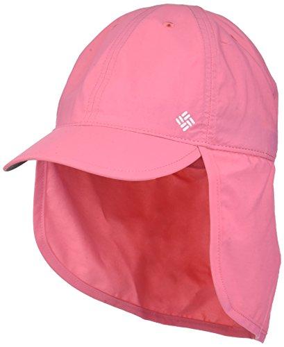 Columbia Kinder Junior Sonnenhut mit Nackenschutz, Größenverstellbar, Einheitsgröße, pink (lollipop), CY9507