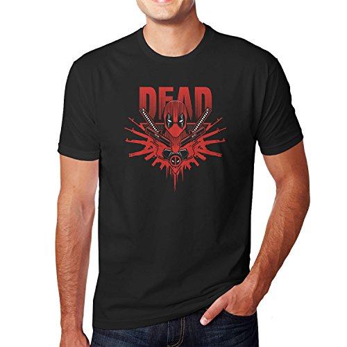 Kostüm Mann Taco (Planet Nerd - Dead Logo - Herren T-Shirt, Größe L,)