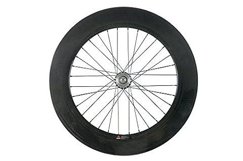 WINDBREAK BIKE 88mm Fixed Gear Bike Wheel 700c Carbon Clincher Single Speed Rear Wheel