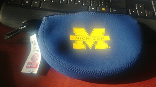 Kolder Neopren Reißverschluss Grab Bag Oder elektronische Kabel, Universität von Michigan (Wolverines) (Offizielles Lizenzprodukt Collegiate Produkte) -