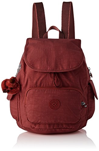 Kipling City Pack S, Sacs à dos femme, Marron (Burnt...