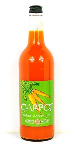 James White - British Carrot Juice - 750ml (Case of 6)
