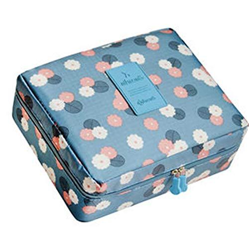 Zihuist sacchetto cosmetico impermeabile multifunzionale borsa da toilette professionale trousse da viaggio per campeggio palestra