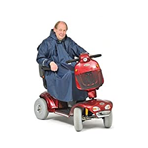 Mobility Scooter Rain Poncho / Cape