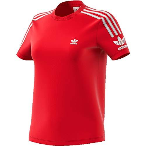 Adidas ed7531, t-shirts donna, scarlet, 40