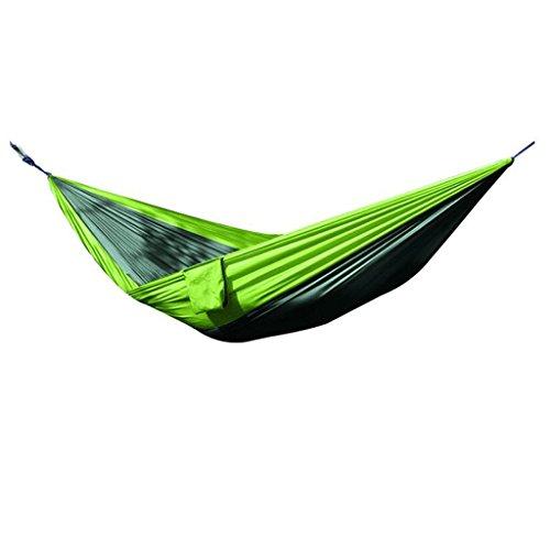 PRIDE S Outdoor Camping Swing Hamac Parachute Double Loisirs Hamac Hamac portatif Portable Pratique Stockage ( Couleur : A , taille : 260*145cm )