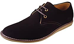 Action Synergy Mens AR006 Brown Stylish Casual Shoes