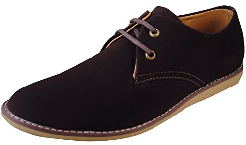 Action Synergy Men's AR006 Brown Stylish Casual Shoes