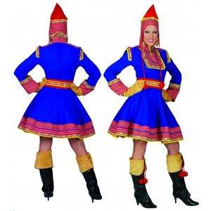 Generique - Kostüm als Russin in Blau für -