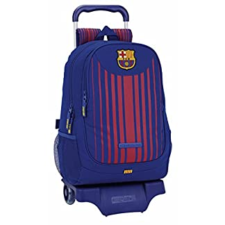 414QI8LqB3L. SS324  - Safta Mochila F.C. Barcelona 17/18 Oficial Escolar Con Carro Safta 330x150x430mm