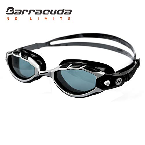 NOTE Barracuda Swimming Goggles Triton Wire Frame Technology Anti-Fog UV Protection Triathlon for Adults Men Women #33925