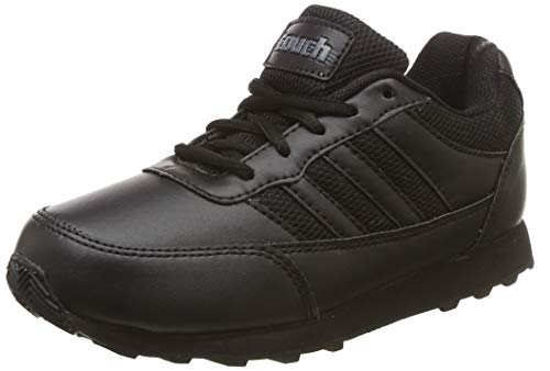 Lakhani Unisex Kid's Black Sneakers-12 UK/India (47.5 EU) (Touch-SS-10 Laces599)