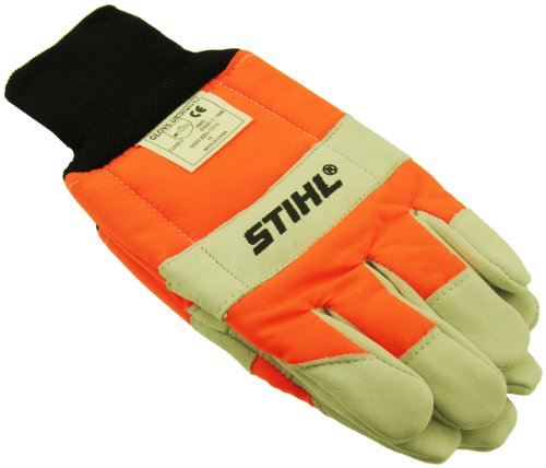 Genuine Stihl Standard Chain Saw Gloves (Large)