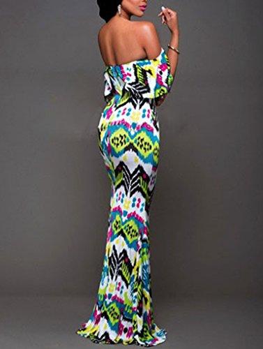 Femmes Mode Sexy Collier Mis sur une grande jupe à Volants robe de Soutien-gorge Comme l'image