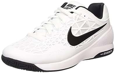 Nike Zoom Cage 2, Chaussures de Tennis Homme - Blanc (white/black/cool Grey), 41 EU