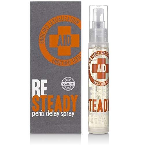 Velv\'Or AID BeSteady Penis Delay Spray - Potenzmittel zur Verzögerung der Ejakulation und vorzeitigem Samenerguss