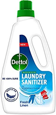Dettol After Detergent Wash Liquid Laundry Sanitizer, Fresh Linen - 960ml