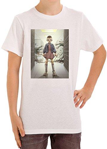 stranger-things-eleven-escapes-lab-fan-art-kids-unisex-t-shirt-ages-5-13-xx-large