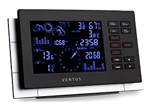 Ventus W155 Weather Station Black/Beige