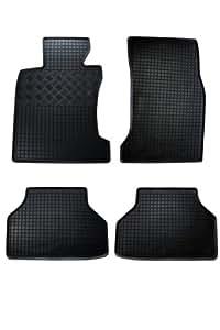 Tapis de sol en caoutchouc Skoda Superb 2 3T 08- Break 4-pièces