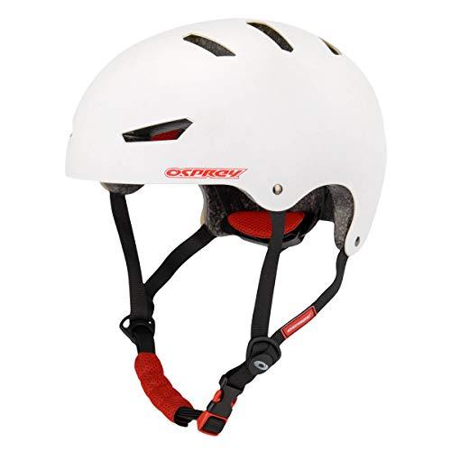 Osprey Skate SK5002, SKATEHELMET-White-L Bambino
