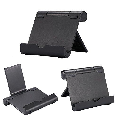 High Grade–Multi Winkel Tragbarer Ständer für Tablets, E-Reader und Smartphones–leicht langlebiges Aluminium Körper–Universelle Kompatibilität–AAA Products® Apple Iphone 4s Att 16gb