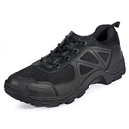 FREE SOLDIER Herren Rapid rutschfest Camping Wandern Mountain All-Terrain Offroad Schuhe Desert Boots, schwarz, 44