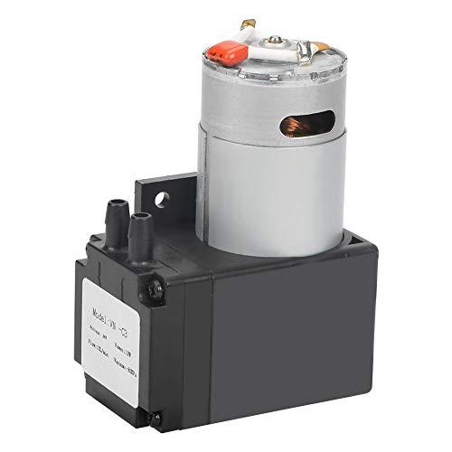 Mini-Vakuumpumpe, DC 24V 12W Öllose Vakuumpumpe, 10L / min Durchfluss -80kPa Vakuumgrad, für medizinische Sauerstoffgeneratoren für den Haushalt usw.