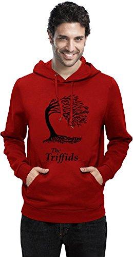 Preisvergleich Produktbild The Triffids Funny Slogan Mens Hoodie Small