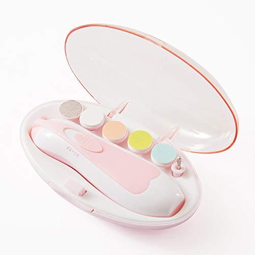 SDGDFXCHN Baby Nagelfeile Trimmer Elektrisch Safe Baby Nagelknipser Neugeborene Nagelschleifer