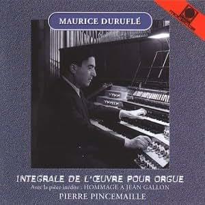 Maurice Duruflé - Sämtliche Orgelwerke (Oberlinger-Orgel St. Joseph Bonn-Beuel)