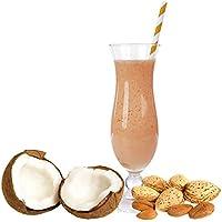 Kokos Mandel Molkepulver Luxofit mit L-Carnitin Protein angereichert Aspartamfreier Wellnessdrink (1 kg)