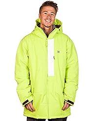 Nieve chaqueta hombres DC líder chaqueta, color Amarillo - lime green, tamaño S