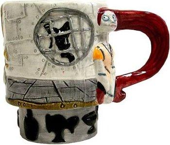 Nightmare Before Christmas Ceramic Sally Mug 2001 by NECA