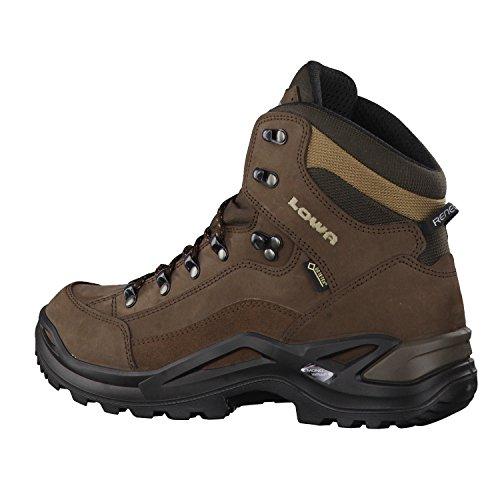 LOWA chaussures de randonnée homme Renegade GTX Mid (310945 4285) Espresso/Marron