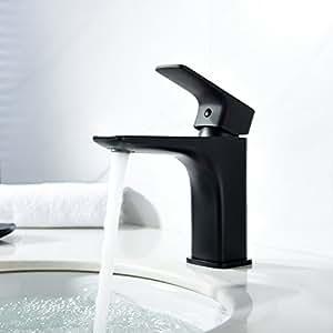 Waschtischarmatur Schwarz imoebel wasserhahn waschtischarmatur schwarz überzug mischbatterie